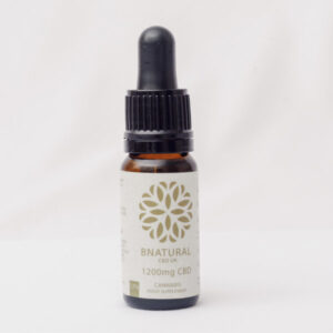 Bottle of Bnatural natural flavoured 1200mg CBD Oil