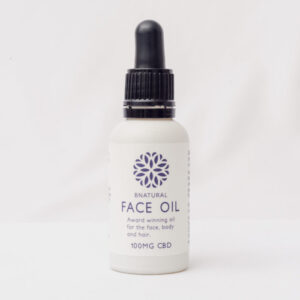 30ml Bottle of Bnatural Face Oil. Contains 100mg CBD
